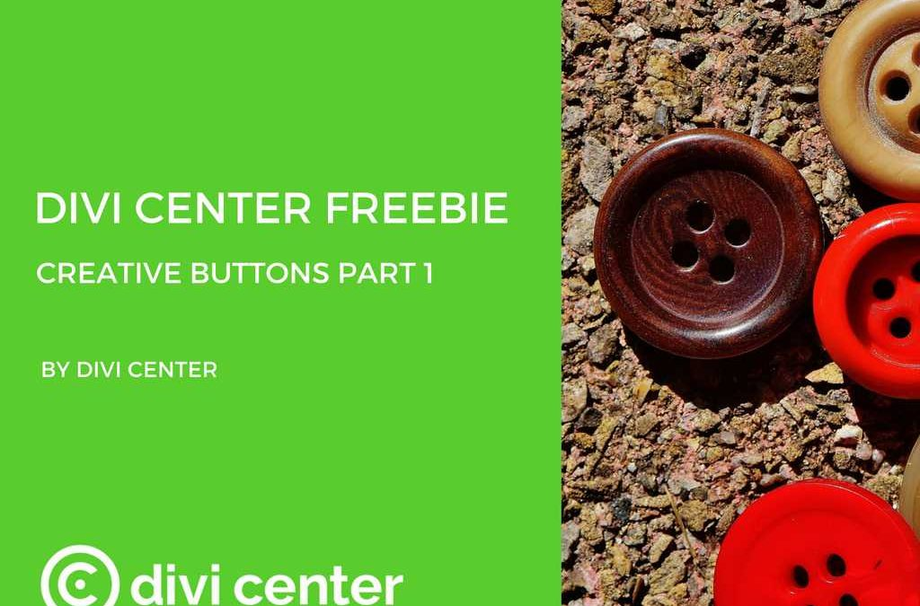 Divi Center freebies – DC buttons part 1
