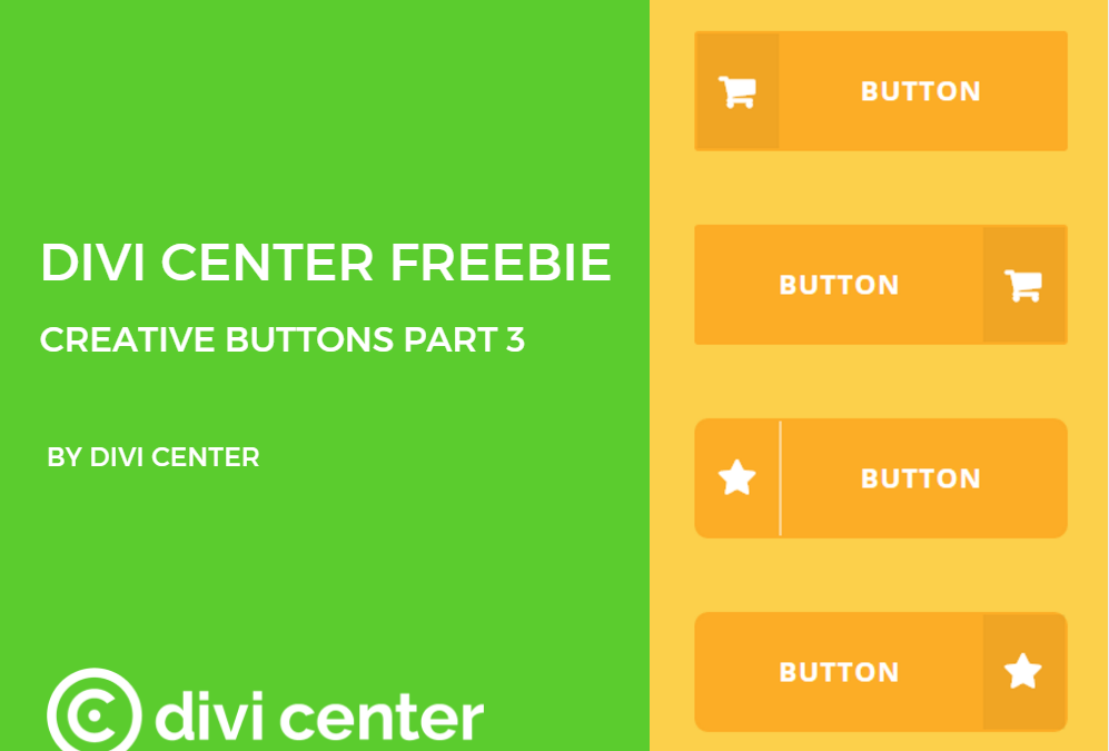 Divi Center freebies – DC buttons part 3