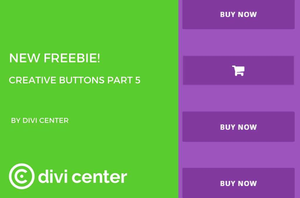 Divi Center freebies – DC buttons part 5